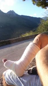 """consolidation en cours, résultat prise de la greffe osseuse (gitp) le 21.10 """"si faisable"""""""